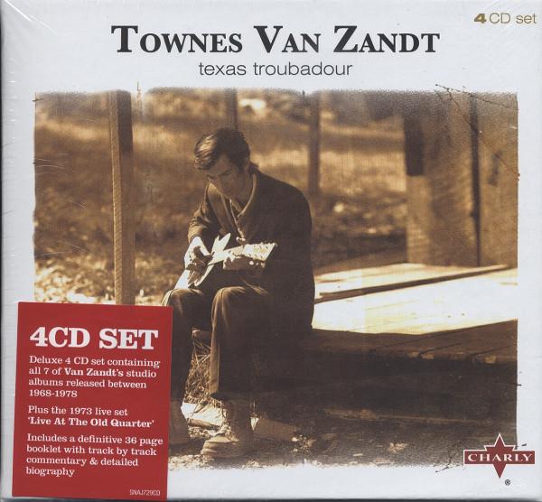 Texas Troubadour (4-CD) Cap-Box