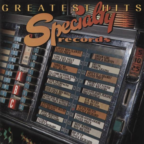Specialty Records Greatest Hits (US)