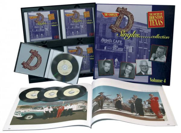 Vol.4, The Sounds Of Houston Texas (4-CD Deluxe Box Set)