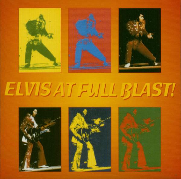 Elvis At Full Blast (CD)