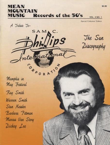 Sun Records Discography - Sun Discocgraphy (1979) Mean Mountain Music Magazine Vol.4 #1