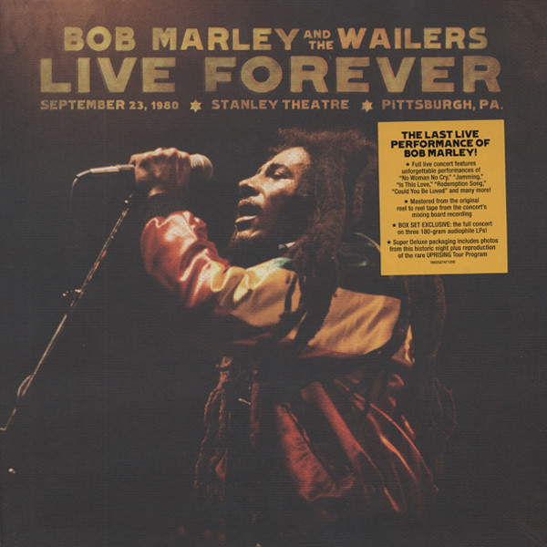 Live Forever (3LPs & 2-CDs)