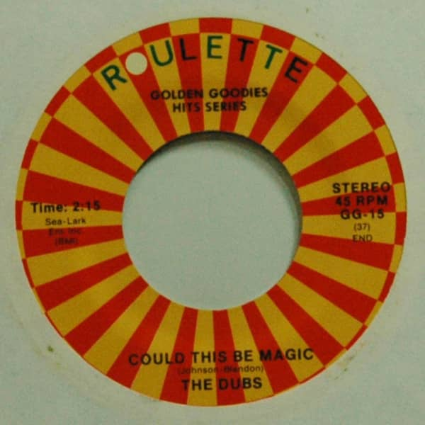 Could This Be Magic b-w Chapel Of Dreams 7inch, 45rpm