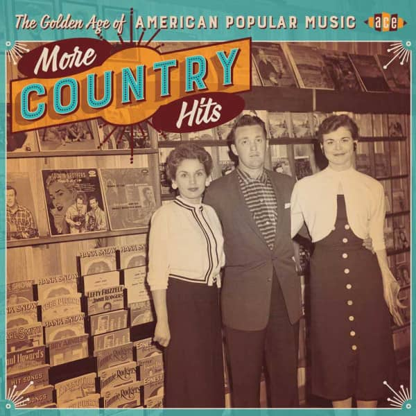 The Golden Age Of American Popular Music - More Country Hits (CD)