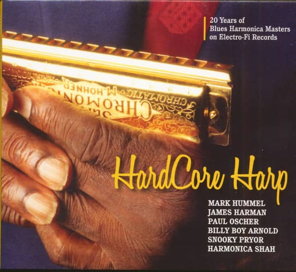 Hard Core Harp (CD)