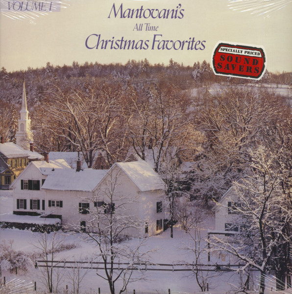Mantovanis All Time Christmas Favorites Vol.1 (LP, Cut-Out)