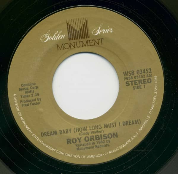 Dream Baby (How Long Must I Dream) - I'm Hurtin' (7inch, 45rpm, BC)