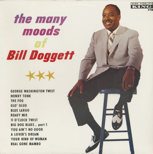 The Many Moods Of Bill Doggett (LP)