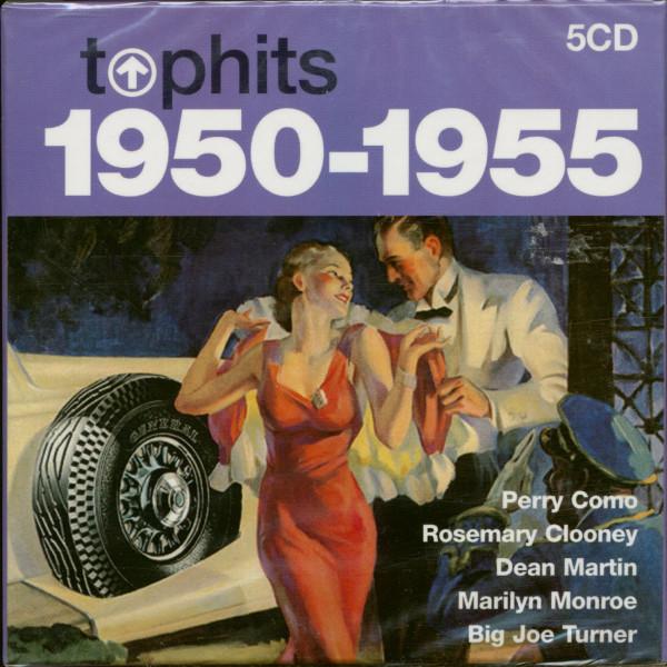 Top Hits 1950-1955 (5-CD)