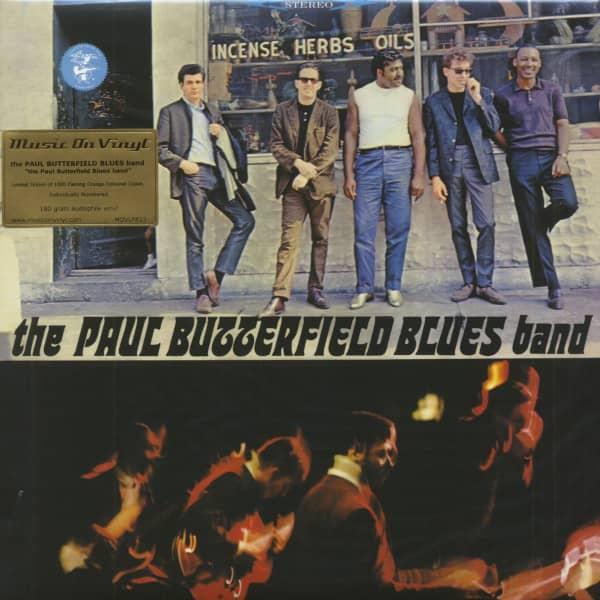 The Paul Butterfield Blues Band (LP, 180g Orange Vinyl, Ltd.)