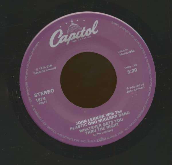 Whatever Gets You Thru The Night - Beef Jerky (7inch, 45rpm)