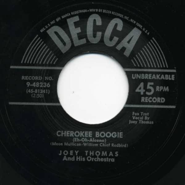 Cherokee Boogie - Barefoot Susie 7inch, 45rpm