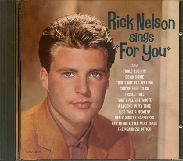 Rick Nelson Sings For You (CD)