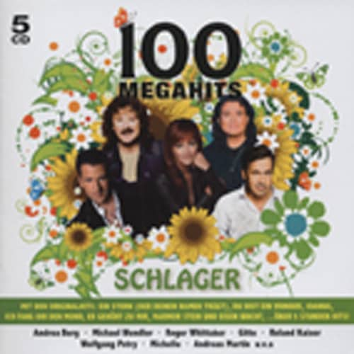 100 Megahits - Schlager (5-CD)