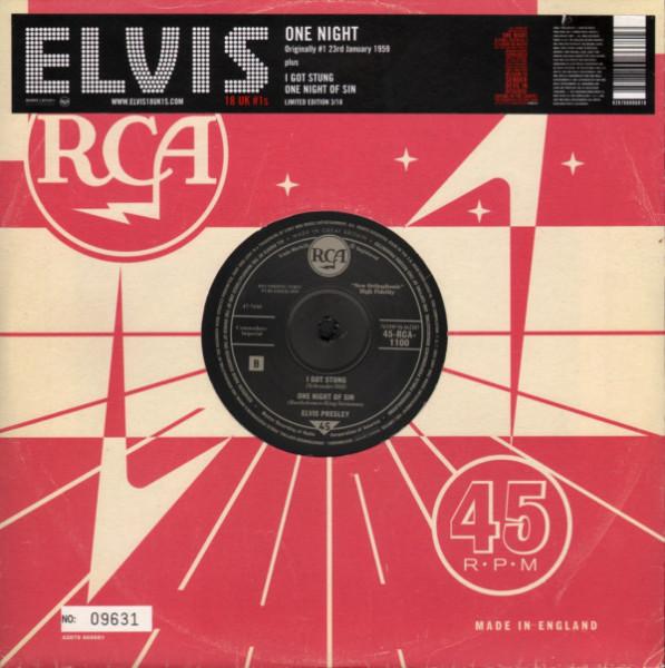 18 UK #1s - One Night (10inch, 45rpm, Ltd.)