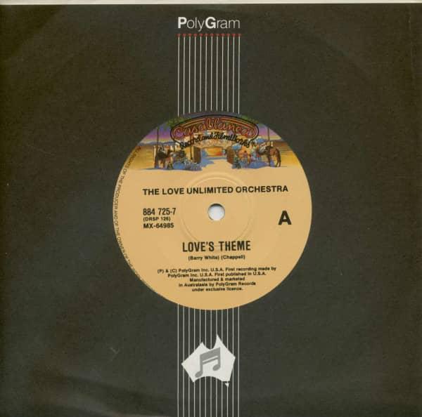 Love's Theme - The Little Drummer Boy (7inch, 45rpm, SC, CS)