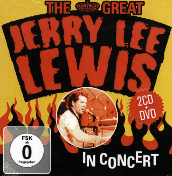 The Great Jerry Lee Lewis In Concert (2-CD Album + DVD)