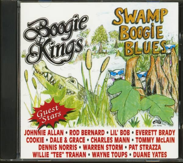 Swamp Boogie Blues (CD)