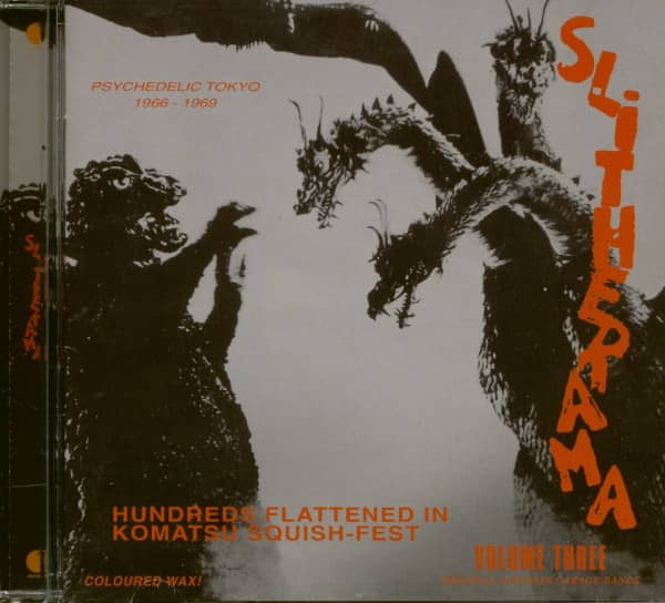 Slitherama - Psychedelic Tokyo 1966 - 1969 Vol.3 (CD)