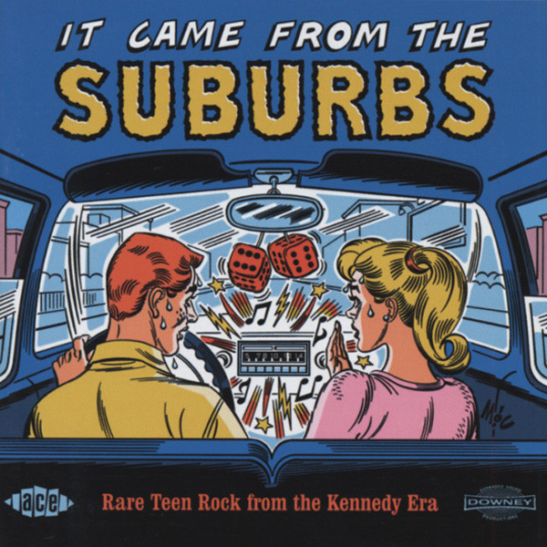 It Came From The Suburbs - Rare Teen Rock (CD)