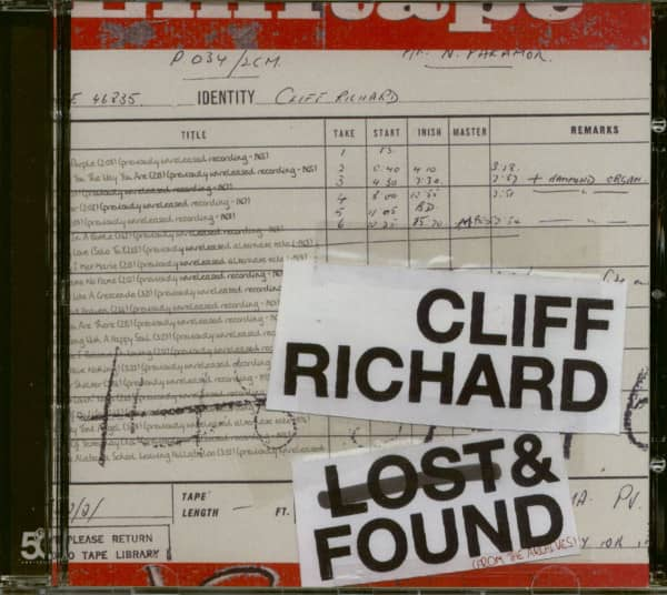 Lost And Found - From The Archives (CD)