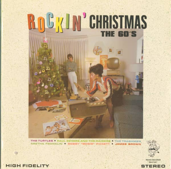 Rockin Christmas - The 60's (LP, Cut-Out)