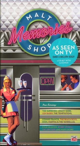 Malt Shop Memories (4-CD Digibook)