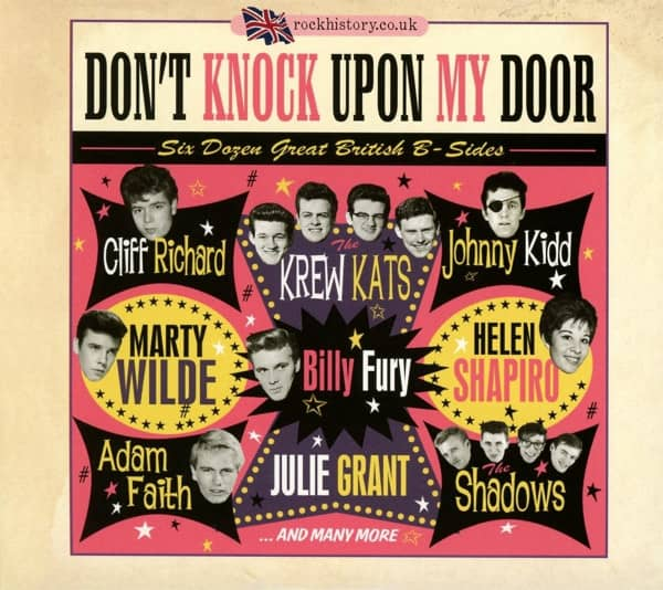 Don't Knock Upon My Door - 50 Dozen Great British B-Sides (2-CD)