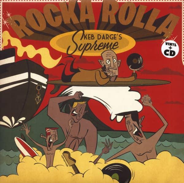 Rocka Rolla - Keb Darge's Supreme (LP & CD)