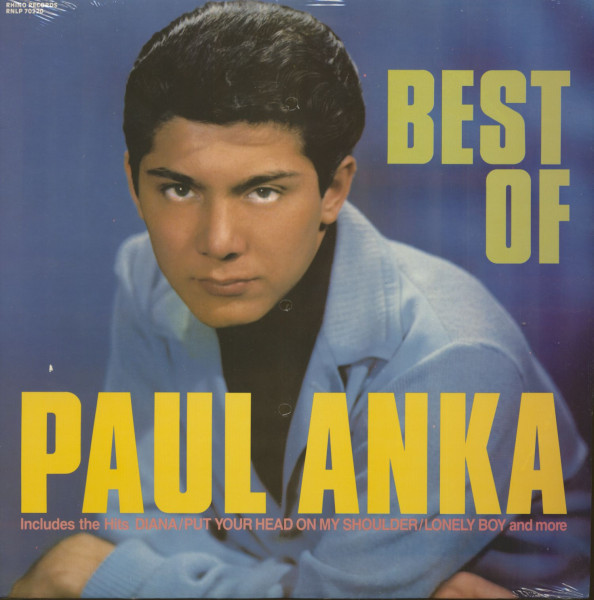 Best Of Paul Anka (LP, Cut-Out)