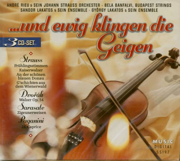 ...Und Ewig Klingen Die Geigen (3-CD)