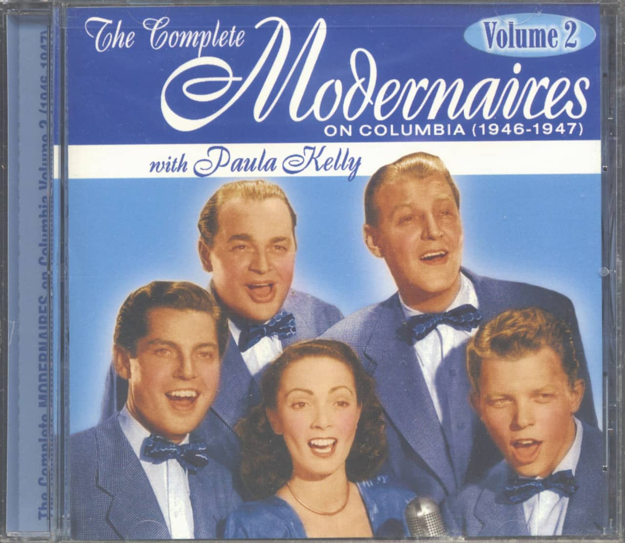The Modernaires - The Complete Modernaires With Paula Kelly On Columbia Vol.2 - 1946-47 (CD)