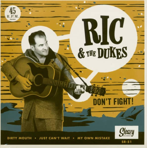 Don't Fight (EP, 7inch, 45rpm, PS)