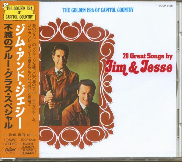20 Great Songs By Jim & Jesse (CD Japan)