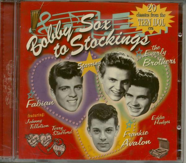 Bobby Sox To Stockings - 20 Classics From The Teen Idol Era (CD)