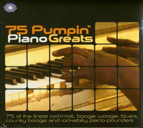 75 Pumpin' Piano Greats (3-CD)