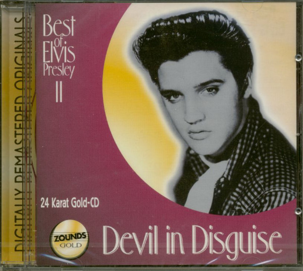 Devil In Disguise - Best Of Elvis Presley II (CD, 24 Karat Gold)