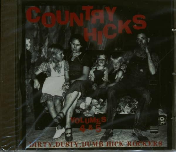 Country Hicks Vol.4 & 5 (CD)