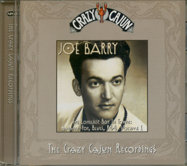 Loneliest Boy In Town - Crazy Cajun Recording Vol.1 (CD)
