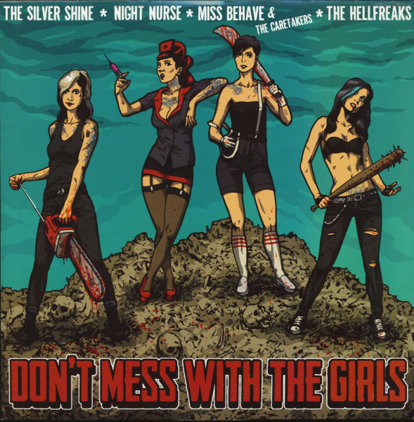 Don't Mess With The Girls (Mini LP, 45rpm, Red Vinyl, Ltd.)