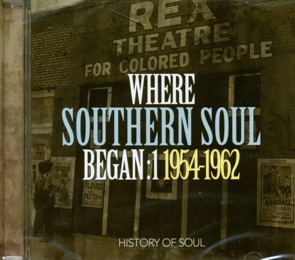 Where Southern Soul Began: 1 (2-CD)