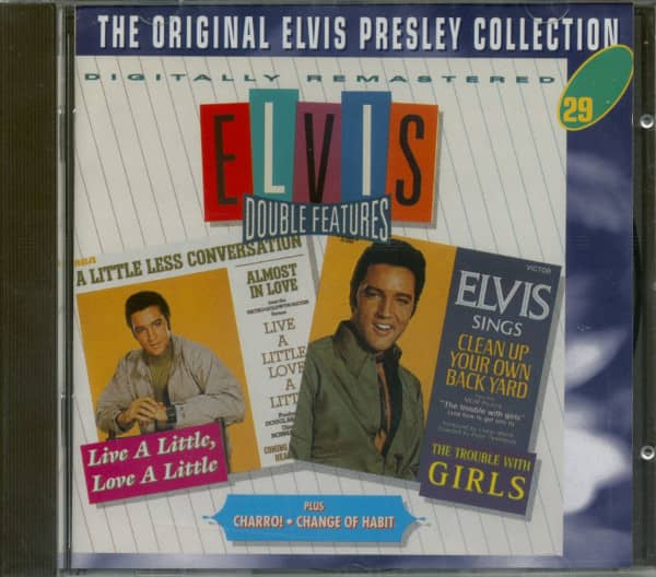 Double Features - Live A Little & The Trouble With Girls, plus - The Original Collection #29 (CD)