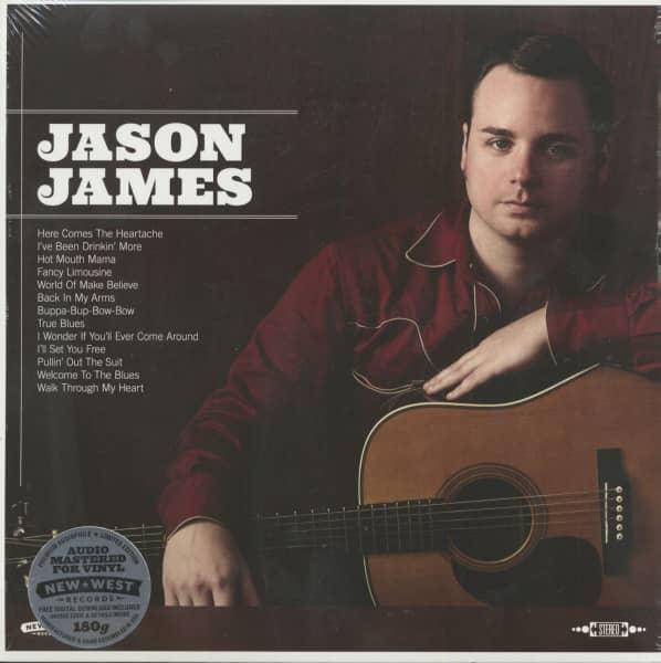 Jason James (LP, 180g Vinyl)