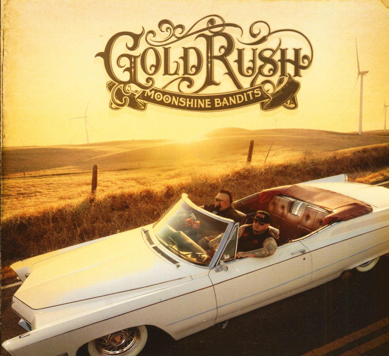 Moonshine Bandits - Gold Rush (CD)
