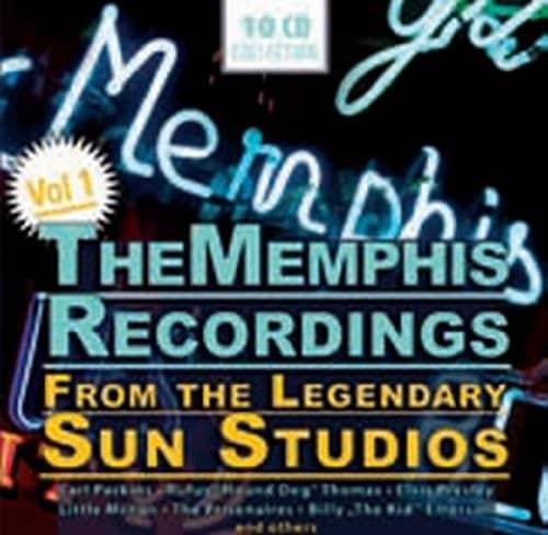 The Memphis Recordings From The Legendary Sun Studios Vol. 1 (10-CD)