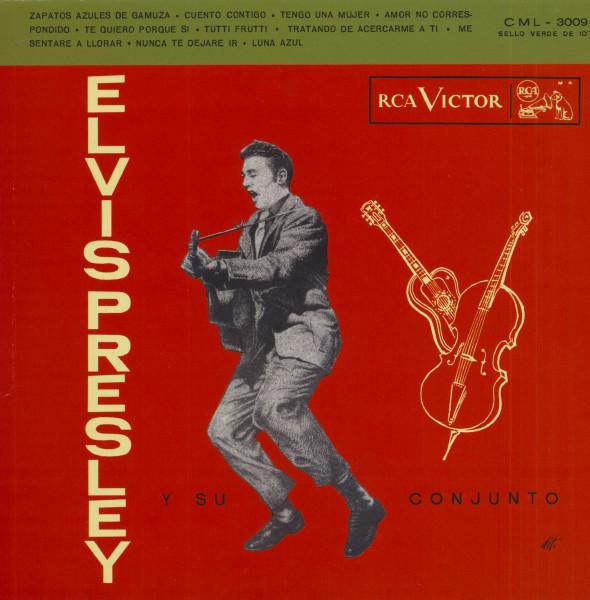 Elvis Presley Y Su Conjunto (LP, 10inch, Pink Vinyl, Ltd.)