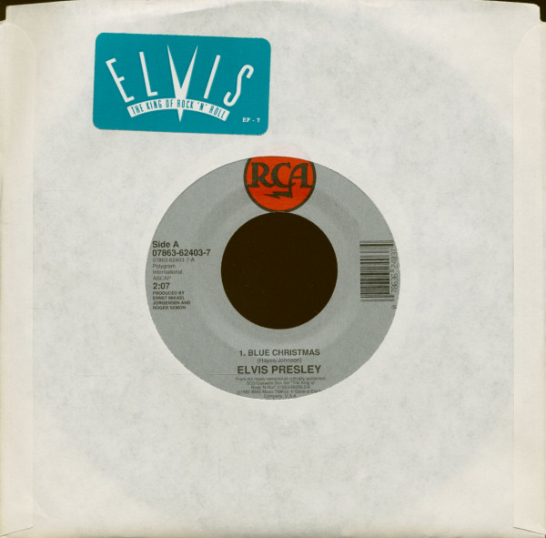 Blue Christmas - Love Me Tender (7inch, 45rpm)