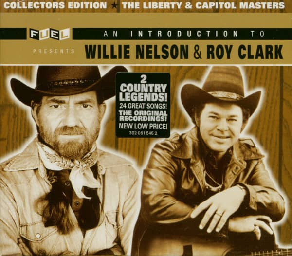 The Liberty & Capitol Masters - An Introduction To Willie Nelson & Roy Clark (2-CD)