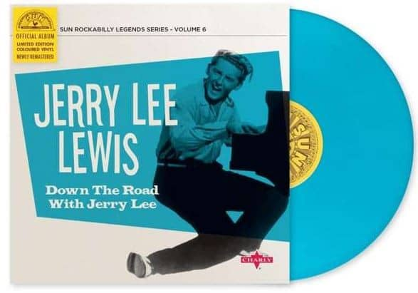 Down The Road With Jerry Lee (LP, 10inch, Ltd.)