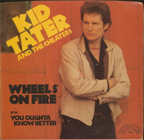 Wheels On Fire - You Oughta Know Better (7inch, 45rpm, PS)